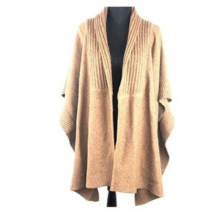 Talbots woman's Sweater poncho